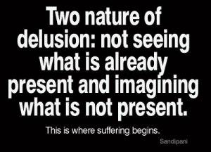 Delusion-nature